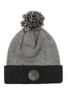 CONVERSE Dark Grey Bobble Beanie Hat £2.40 Code:EXTRAEXTRA or £2.10 with code and Unidays FREE C&C @ Topman