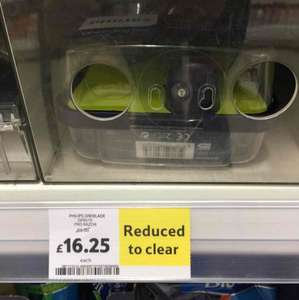 Philips Oneblade Pro QP6510 down from £65 to £16.25! - Tesco