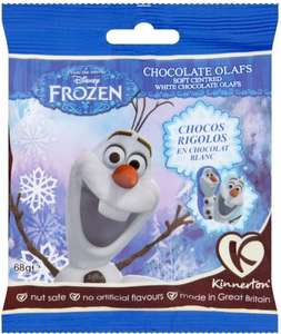 Kinnerton Frozen White Chocolate Olafs (68g) was £1.00 now only 25p @ Poundstretcher (INSTORE)