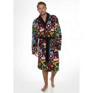 Marvel Comic Strip Fleece Bathrobe reduced from £29.99 to £12.59 using code 10GIFTS @ Internet Gift Store also free delivery