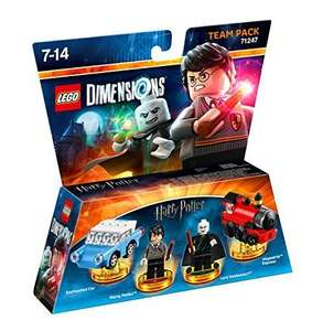 Lego Dimensions Harry Potter Team Pack £12.50 Prime / £14.49 non-prime Sold by Level99Games and Fulfilled by Amazon