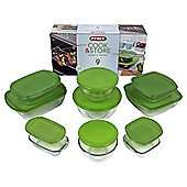 Pyrex Prep, Cook and Store 9 Piece Dish Set at Tesco Direct for £18