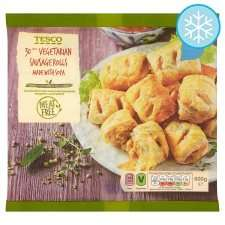 Tesco Vegetarian Sausage Rolls (30 = 600g) was £1.50 now 2 packs for £2.50 @ Tesco