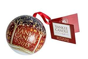Yankee Candle Festive Bauble Includes 3 Wax Melts £1.99 @ Amazon - Free delivery when you spend £20 - add on item