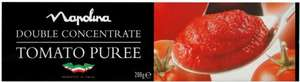 Napolina Double Concentrate Tomato Puree (200g) was £1.41 now 75p @ Asda