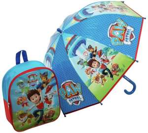 Paw Patrol Backpack and Umbrella Set now £7.99 @ Argos