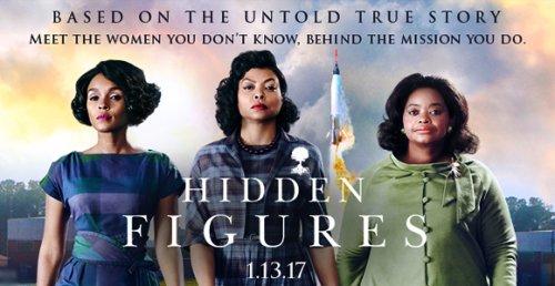 New Code - Hidden Figures - Wednesday 15/02/17  - Free Cinema Tickets @ Show Film First