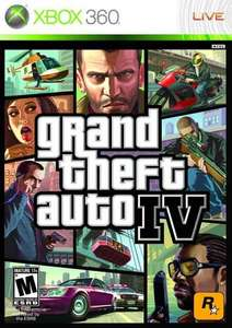 GTA IV Grand Theft Auto 4 Xbox 360 / One - Pre owned from Fareham Game via Game.co.uk £2.00 plus shipping £1.99 - £3.99