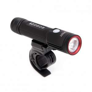 Front bike light, USB rechargeable, 850 lumens, £34 from Alpkit