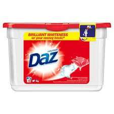 42 DAZ Laundry Tablets Tabs £4.99 at B+M for whites+coloured washes