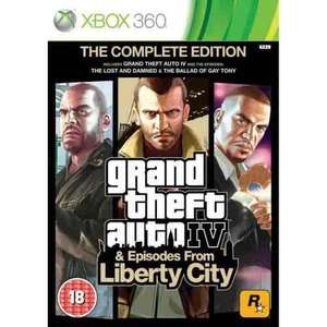 Grand Theft Auto IV Complete Edition (GTA 4) - Xbox 360/Xbox One (Preowned) £8.50 Delivered @ CEX
