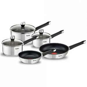 40% off Tefal Emotion Stainless Steel 5 Piece Saucepan Set £74.99 Del @ Webbs