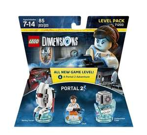 Lego Dimensions: Portal 2 Level Pack - around £11.08 delivered from Amazon.com (Quality Quantities Quickly)