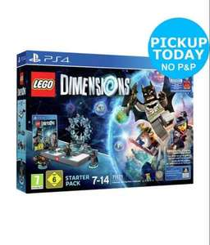 LEGO Dimensions PS4 Starter Pack £32.99  Argos on eBay