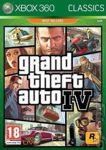 Grand Theft Auto 4 Xbox360 - Now Backwards compatible! £3.89 At Music Magpie