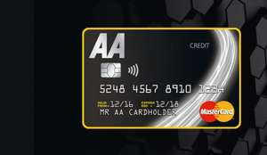 £35 cashback for opening an AA credit card and spending £500 (within 60 days)