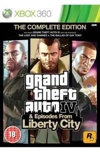 GTA 4 COMPLETE EDITION Xbox 360/One CHEAPEST NEW COPY £10.95 @ Coolshop