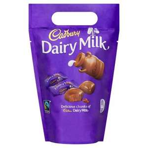 Cadbury Dairy Milk Chunks (470g) £2 @ Bargain Buys