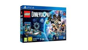 LEGO Dimensions Starter Pack with Supergirl Figure (PS4) [Amazon + Prime] - £32.99