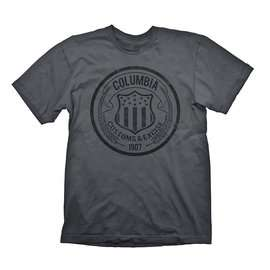 BIOSHOCK 'Colombia Customs & Excise 1907' Grey T-Shirt £4.77 @ GAME