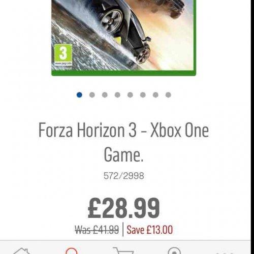 Forza Horizon 3 Xbox One £28.99 @ Argos