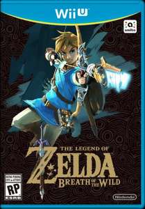 Wii U - Zelda: Breath of the Wild £34.99 @ Very (pre-order)