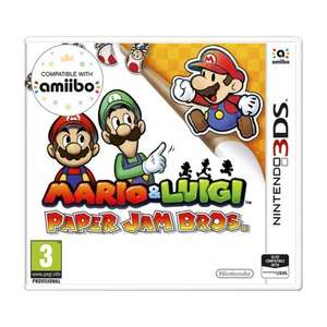Mario & Luigi Paper Jam bros for the Nintendo 3ds £15 in store only @ Smyths