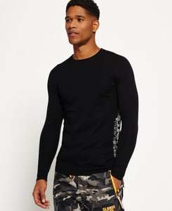 Merino Base Layer Crew Neck Top, was 39.99 - £20 delivered @ Superdry