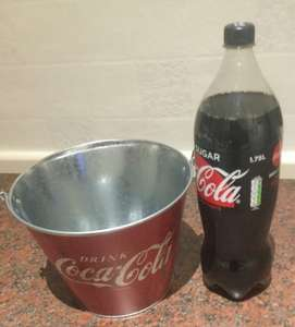 Free Ice Bucket when buying Coca Cola @ Tesco in store only