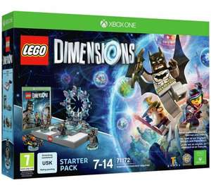 Lego Dimensions Starter Pack (all platforms) £32.99 @ Argos