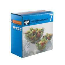 Ravenhead 7 piece serving bowl set for £3 instore @ Booths