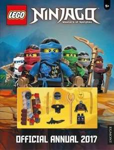 Lego Ninjago Annual 2017 for 50p in Poundland, includes Minifig!