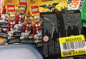 Lego Batman Movie Minifigures Reduced - Tesco instore - £1.50 each