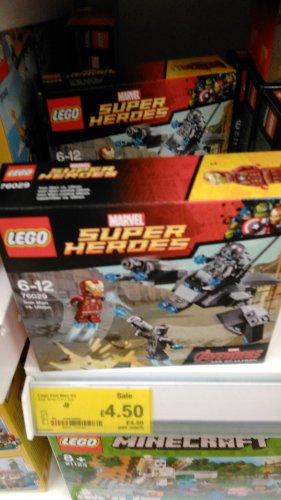LEGO Iron Man vs Ultron 76029 Half Price instore @ ASDA - £4.50