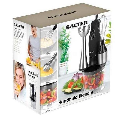 Half Price Salter Black Hand Held Blender Set £11.80 @ Waitrose Kitchen