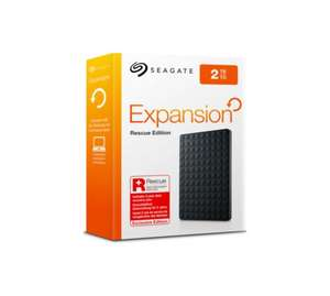 Seagate 2TB Expansion  Portable 2 Year Rescue Service £75.99 @ Argos