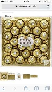 3x 24 pack boxes of ferrero Rocher @ amazon - £13.99 (Prime) £18.74 (Non Prime)