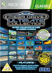 Sega Mega Drive Collection (Xbox 360) New £10.99 delivered @ Base