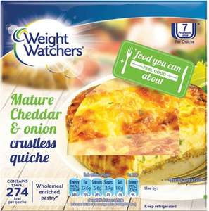 Weight Watchers Crustless Bacon & Leek Quiche 160g / Weight Watchers Crustless Cheese & Onion Quiche 160g was £1.55 now 2 for £2.00 @ Waitrose