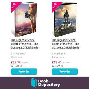 Breath of the Wild: The Complete Official Guide available for Pre-order @ Book Depository! - £13.41