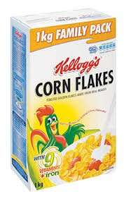 1kg Kellogs Cornflakes 2 for £5 instore @ Morrisons