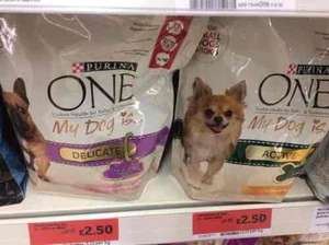 Purina One Dog food - £2.50  @ Sainsbury's