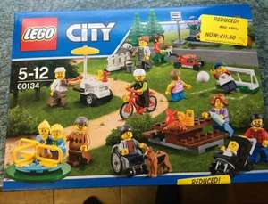 Lego 60134 City Town Fun in the Park People Pack - £11.50 instore @ ASDA