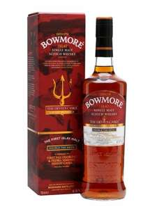 Bowmore The Devil's Cask III Whisky - double the devil. £125 @whiskyexchange - free P and P - save £65