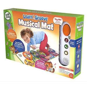 LeapFrog Learn and Groove Musical Mat £9.99 instore / online @ The Entertainer (Free C+C wys £10+)