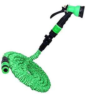 Deluxe Expandable No Kink Garden Hose Pipe, £19.99 Sold by Pampered Gardens and Fulfilled by Amazon.
