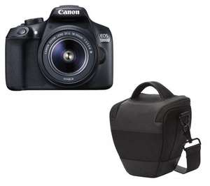 CANON HL100 Camera Bag - Black - Free with Canon 1300D £319 @ Currys