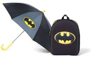 Batman Logo Backpack & Umbrella Set £9.99 @ argos