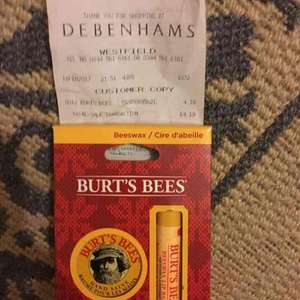 Burt's Bees lip balm and hand salve £4.19 instore @ Debenhams
