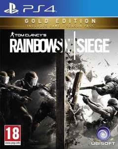 Rainbow Six Siege Season 2 Gold Edition PS4/Xbox One £24.99 @ Coolshop